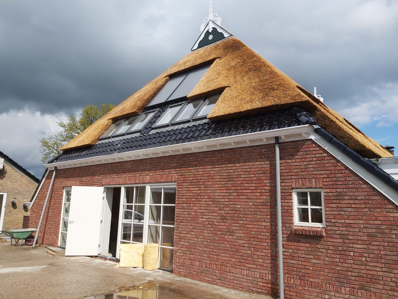 dakramen indekken rieten dak