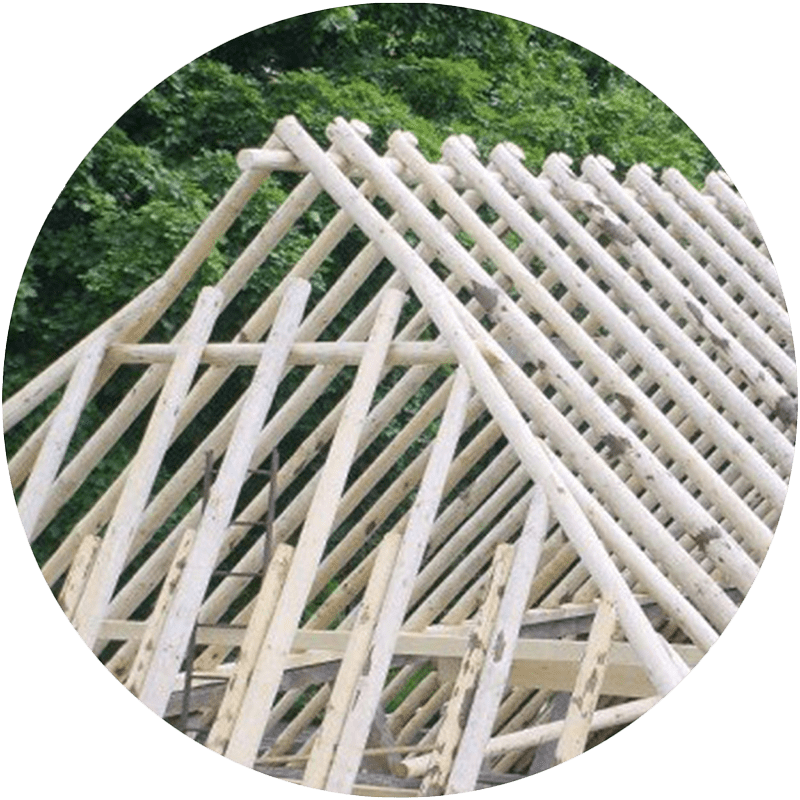timmerwerk rietdekker kapconstructie friesland